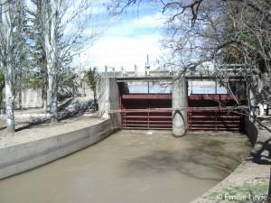 Barrage Valle de Uco (Mendoza, Argentine)
