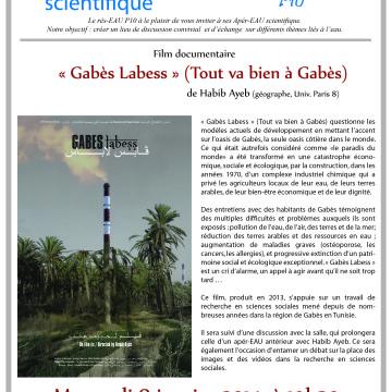 Projection du film «Gabès Labess» de Habib Ayeb, le 8 janvier 2014 à 19h30, Nanterre