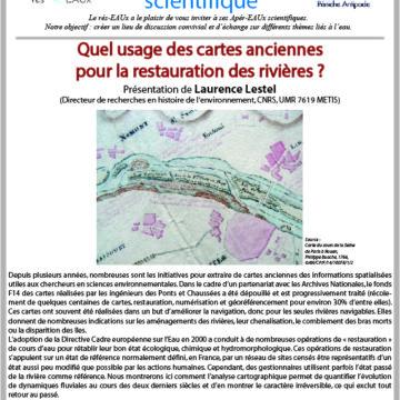 Mathilde Chauffour : CR du 3ème Apér-EAU scientifique avec Laurence Lestel