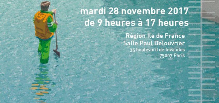 Grand colloque de la Seine en Partage et ses affluents «Inondations»- Mardi 28 novembre à 09h00 (Salle Paul Delouvrier)