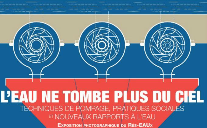 L'exposition « L'eau ne tombe plus du ciel » du Rés-EAUx à l'Université d'Artois – Arras