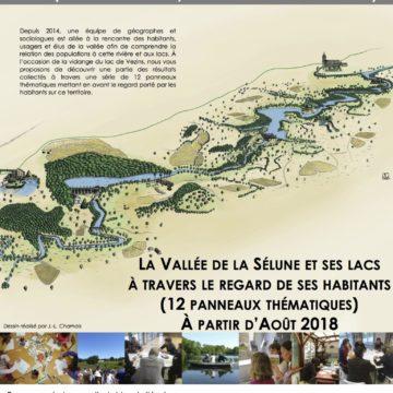 Exposition du programme de recherche sur la vallée de la Sélune