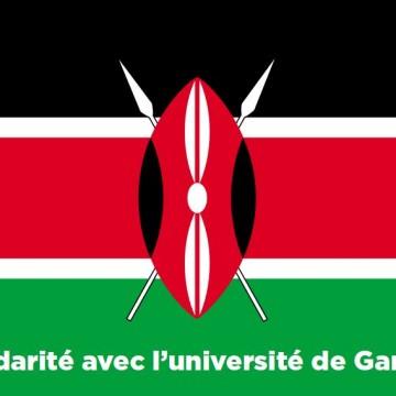 Le rés-EAU P10 solidaire avec l'université de Garissa