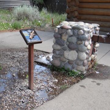 Marie-Anne Germaine : Water Filling Station. S'inspirer des fontaines d'eau potable des grands parcs américains