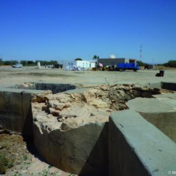 Les puits, éléments structurants de l'espace à Regueb (Tunisie)