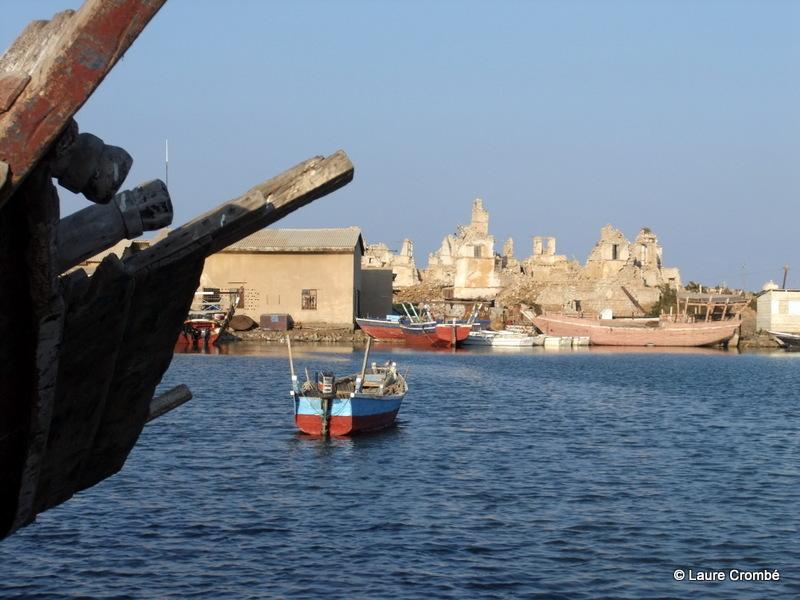 bateau Soudan eau