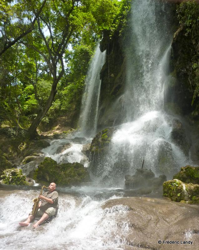 Cascade eau Ambroise