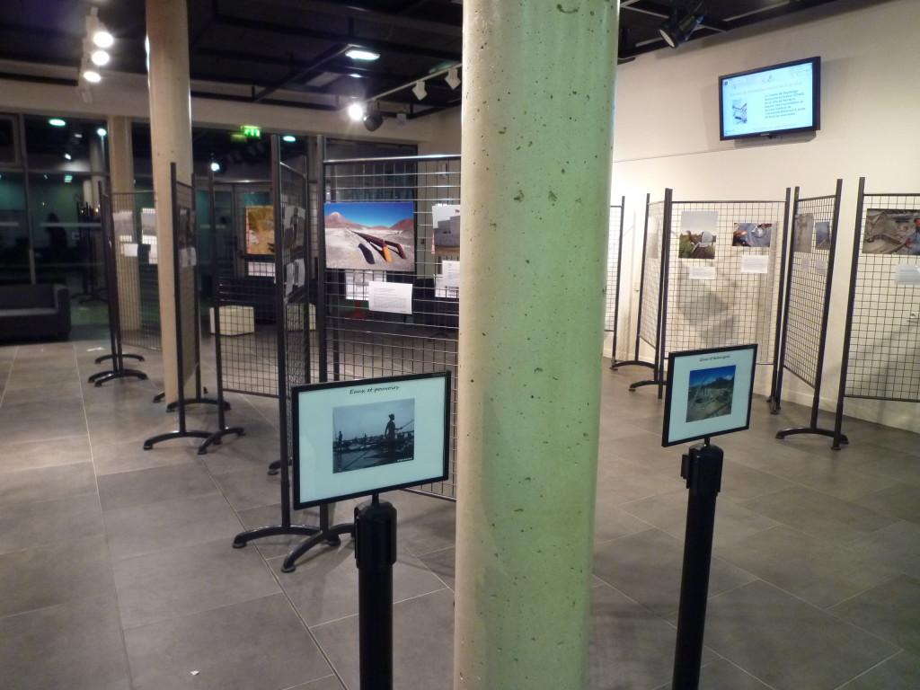 Laissez-vous guider dans l'expo au fil des quatre thèmes paysages, acteurs, pouvoirs et techniques