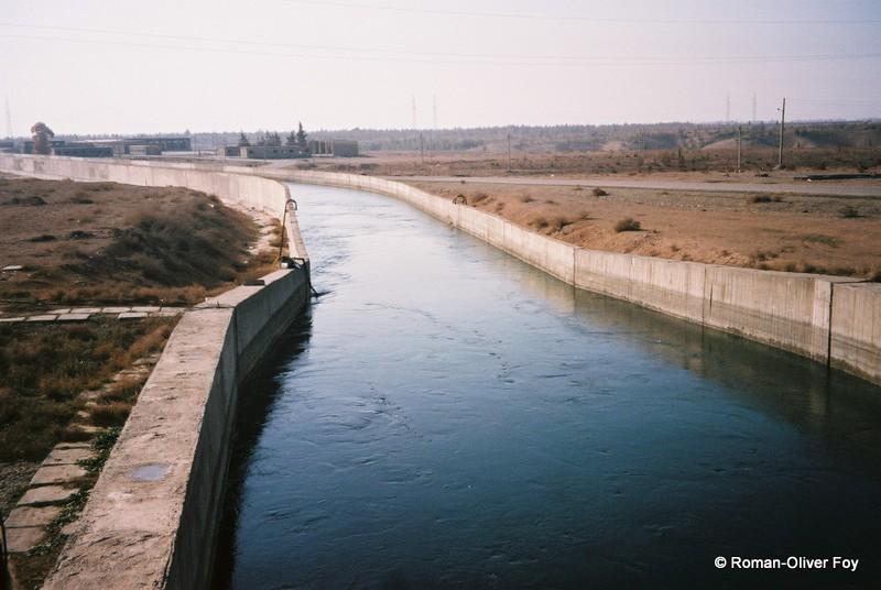 canal eau Syrie