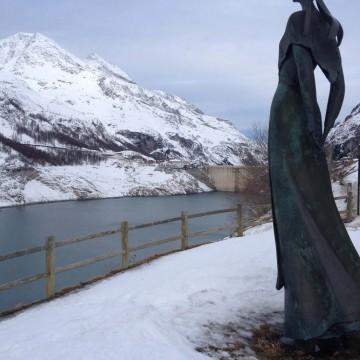 Carte postale d'étudiant: La Dame du Lac, par Antoine MAZER