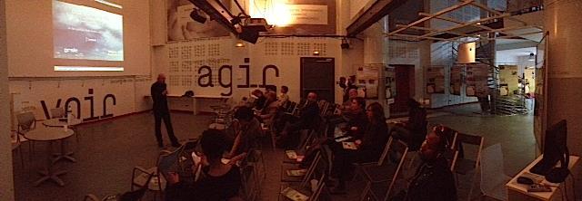 Discussions autour du film « L'eau, la nature, la ville » avec Bernard Chocat. Exposition Phot'EAUX, 13 mai 2014