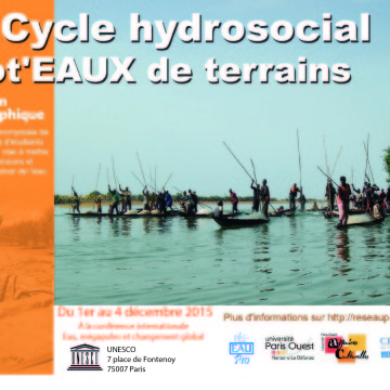 L'expo phot'eau à la conférence « Water, megacities and global change » du 1er au 4 décembre 2015