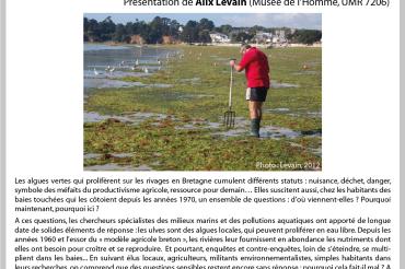 8ème Apér-EAU scientifique – Alix Levain – Marées vertes – Péniche Antipode – 24/10