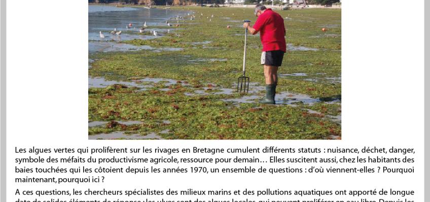 Rappel: 8ème Apér-EAU scientifique – Alix Levain – Marées vertes – Péniche Antipode – Lundi 24 octobre 2016