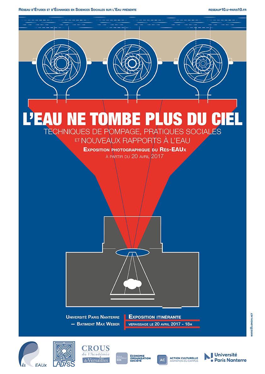 Vernissage de l'exposition «L'eau ne tombe plus du ciel», jeudi 20 avril à 17h