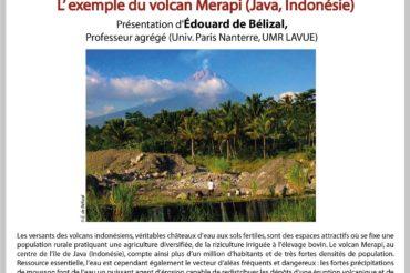7e Apér-EAU scientifique : «L'eau sur les volcans, entre risque et ressource», Edouard de Bélizal – Mardi 24/04/2018