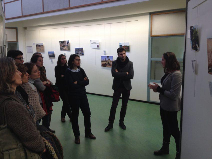 Retour sur l'inauguration de l'expo photo à l'UPEC