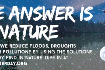 Journée mondiale de l'eau 2018 et Rapport des Nations Unies : Les solutions fondées sur la nature pour la gestion de l'eau