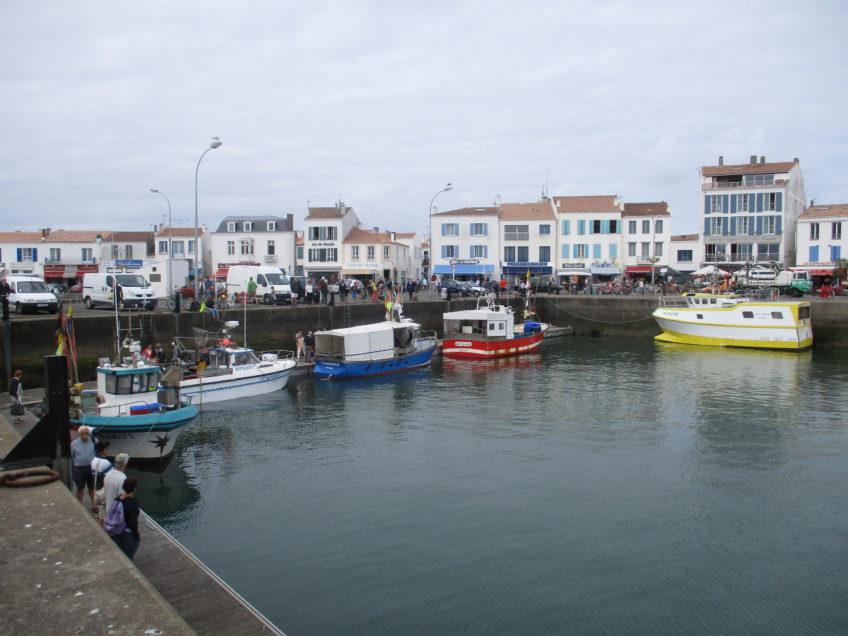 Annaig Oiry : La petite pêche côtière à l'île d'Yeu : état des lieux