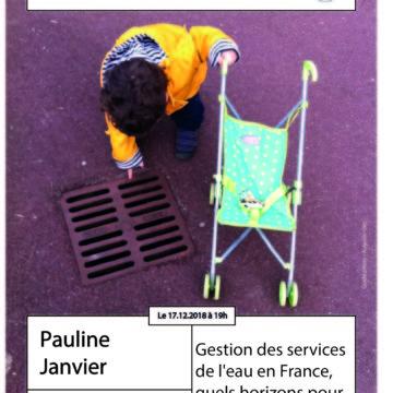 Apér-EAU de l'Ouest – 17/12 – Gestion des services de l'eau en France, quels horizons pour 2030?