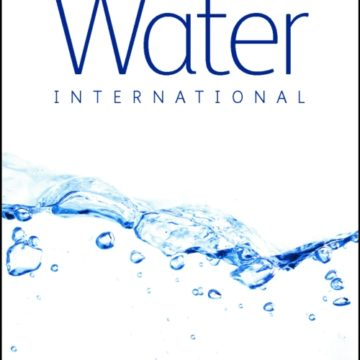 Parution du Volume 43 de Water International « The Global Water Security Challenge »