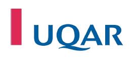 Offre d'emploi : «Maitrise en science sociale de l'environnement» / Université du Québec