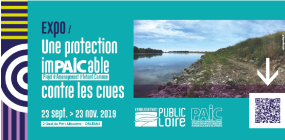 Expo : une protection imPAICable contre les crues (du 23 septembre au 23 novembre 2019)