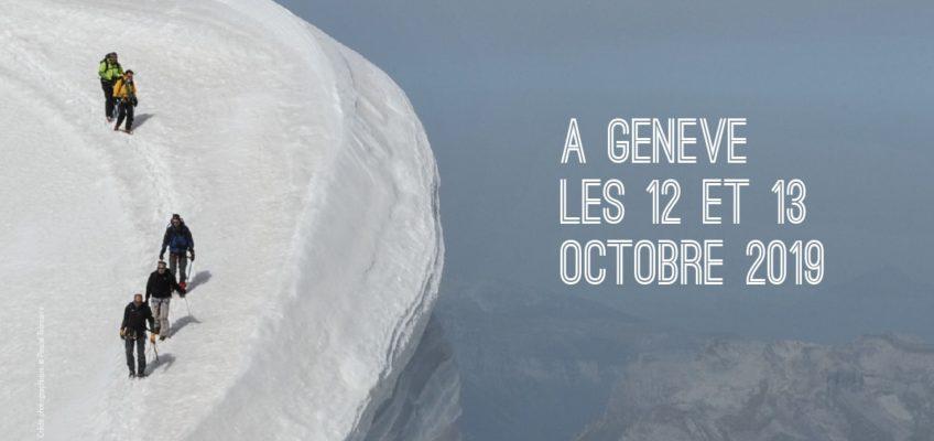 Festival International du Film sur les Glaciers à Genève, les 12 et 13 octobre 2019