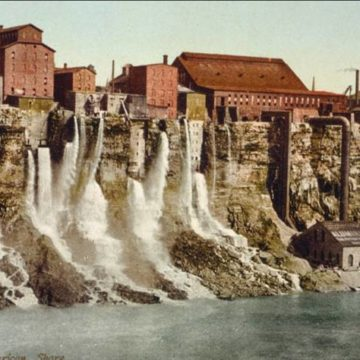 La Phot'eau insolite de la semaine : The MILL DISTRICT of Niagara Falls, New York, 19th Century