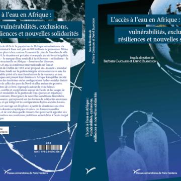 Parution de l'ouvrage «L'accès à l'eau en Afrique : vulnérabilités, exclusions et nouvelles solidarités»