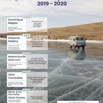 Programmation annuelle des Apér-EAUx scientifiques du Rés-EAUx (2019-2020)