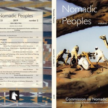 Special issue of Nomadic People: « Water and Pastoralists: Social Contexts, Development in Practice and Resource Grabbing »
