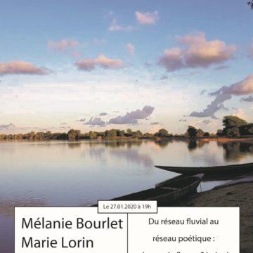 3ème Apér-EAU scientifique, 27 janvier 2020, 19h : «Du réseau fluvial au réseau poétique : chanter le fleuve Sénégal au temps des barrages» par Mélanie Bourlet et Marie Lorin