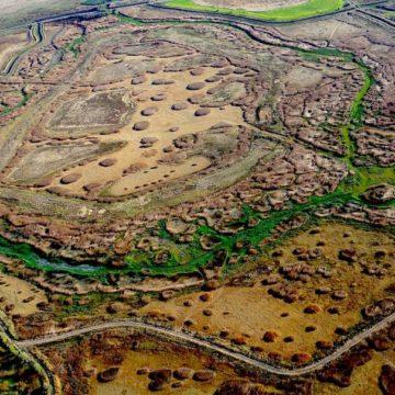 La phot'eau de la semaine : «Created wetlands, California»