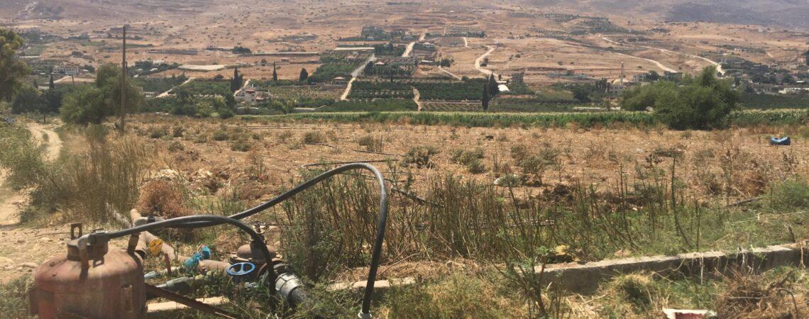 La vallée d'Al Far'a